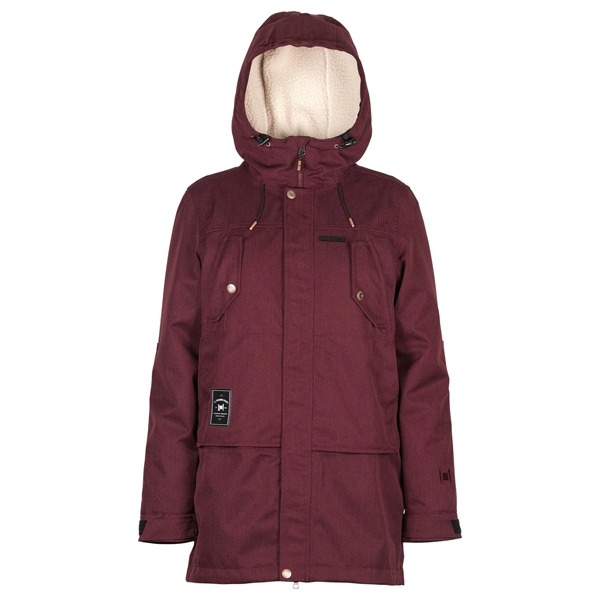 L1 여자 보드복 2021 ASHLAND JACKET WINE