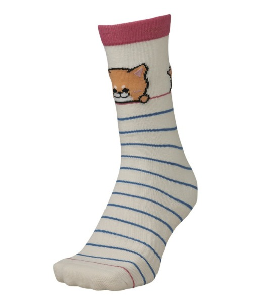 미즈노 아동 스키양말 2021 BREATH THERMO KIDS ANIMAL SOCKS 43
