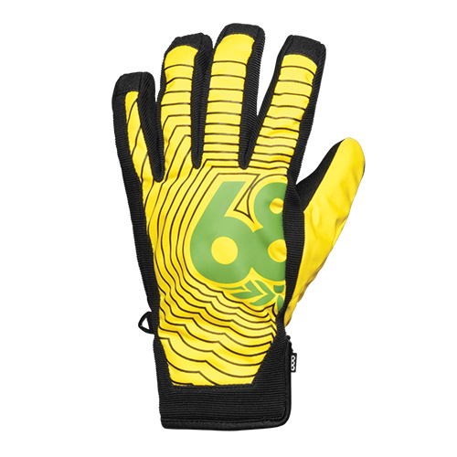 686 보드장갑  686 Authentic Icon Pipe Glove-Lava
