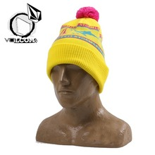 볼컴 비니 VOLCOM Let It Storm Beanie-Taxi Cab